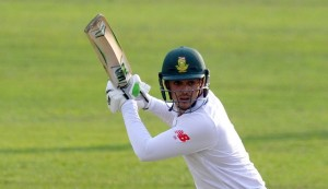 De Kock sets tone with a ton