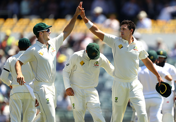 Australia dominate on day one