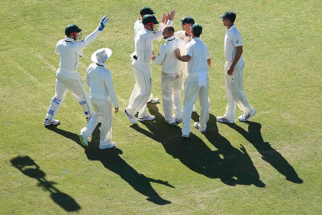 Proteas bowled for 242