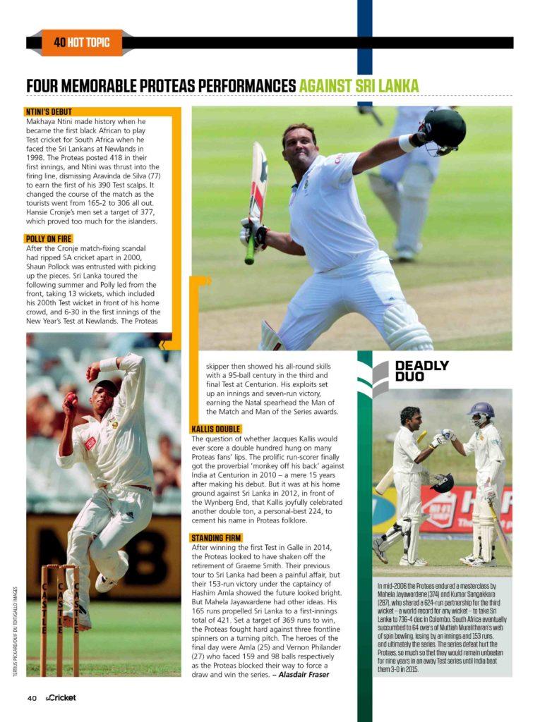 Top 5: Memorable Proteas performances against SL
