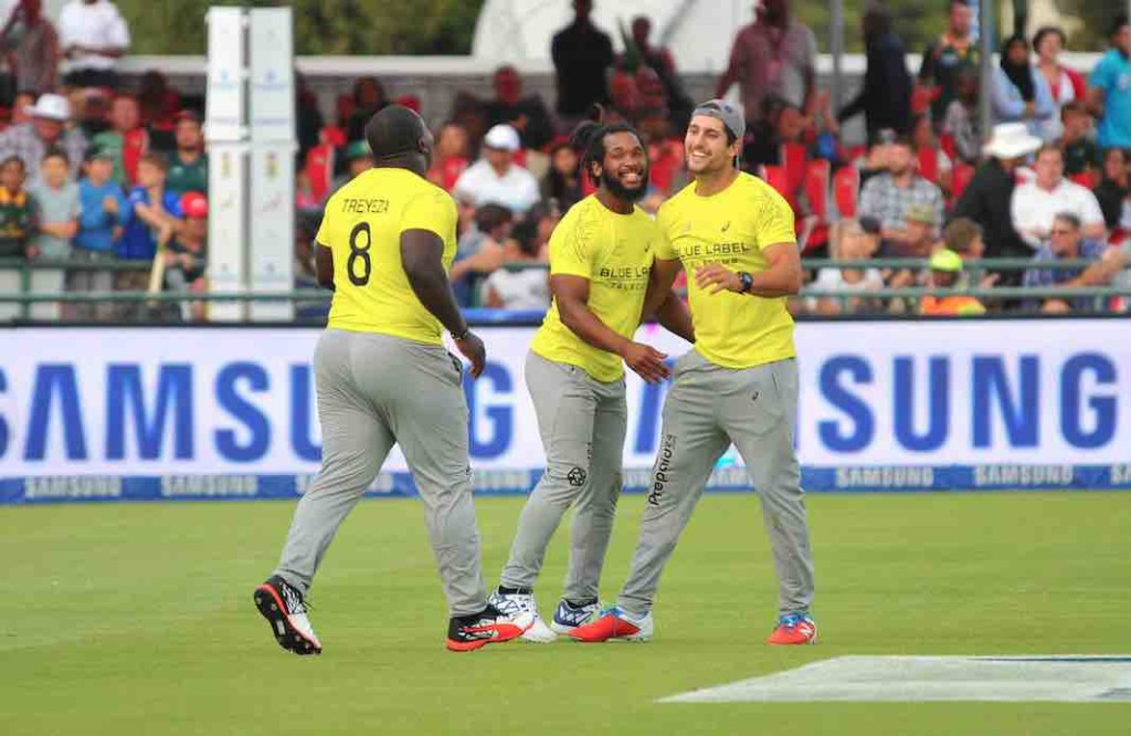Proteas outmuscle Boks