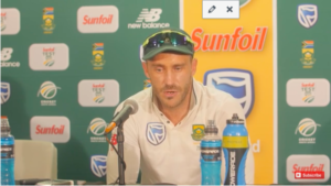 Faf delighted about whitewash