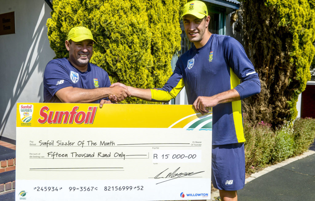 Olivier, the Proteas' latest debutant