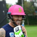 Proteas bowl in Faf's 100th