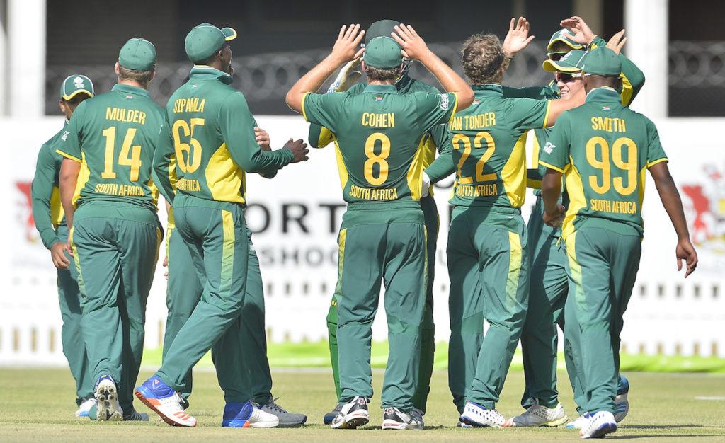 SA U19 clinch series victory