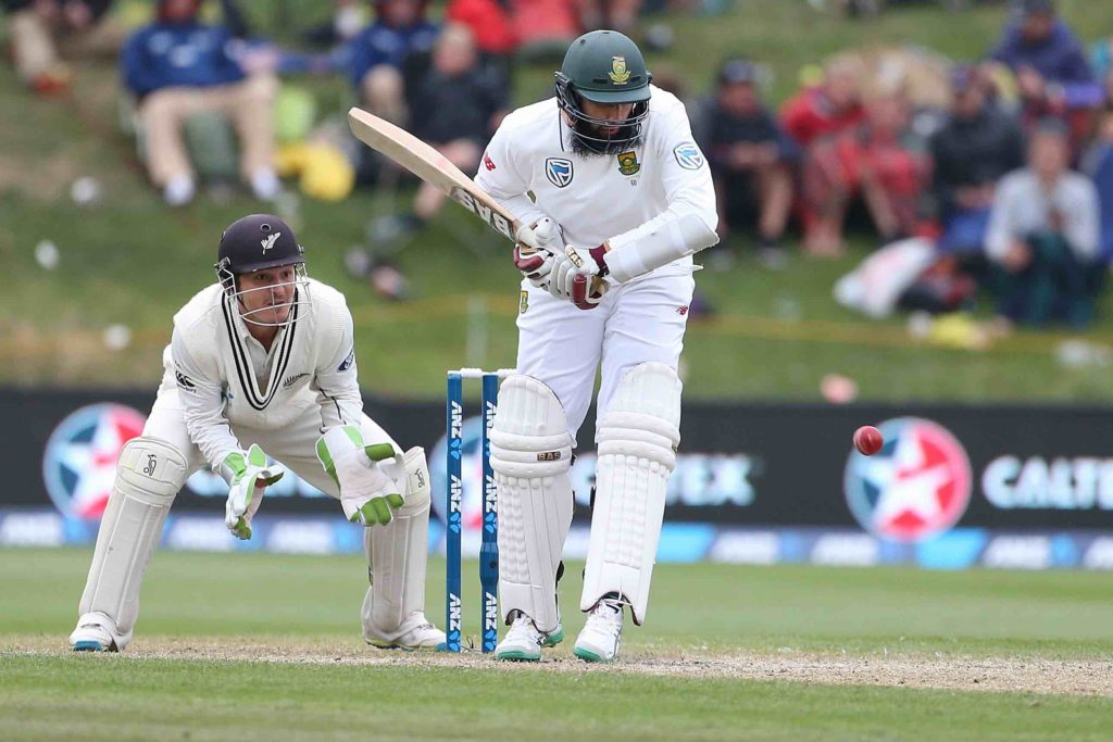A day of building for the Proteas