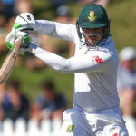 De Kock breaks Patel shackles