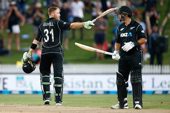 Guptill fires to level series