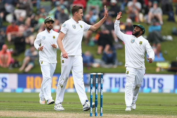 Morkel takes 250th wicket after delayed start