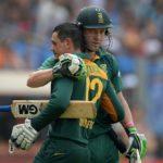 Quinton de Kock and AB de Villiers