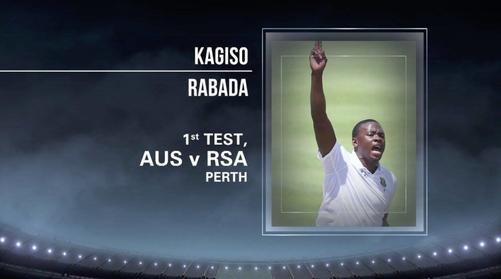 Rabada wins Delivery of the Year