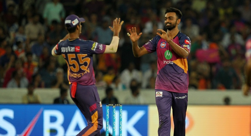 Hat-trick hero Unadkat bumps RPS to second