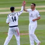 Abbott takes five as Hants struggle