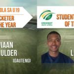 Mulder, Ngidi win CSA breakfast awards