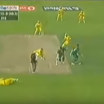 The run-out that broke South African hearts