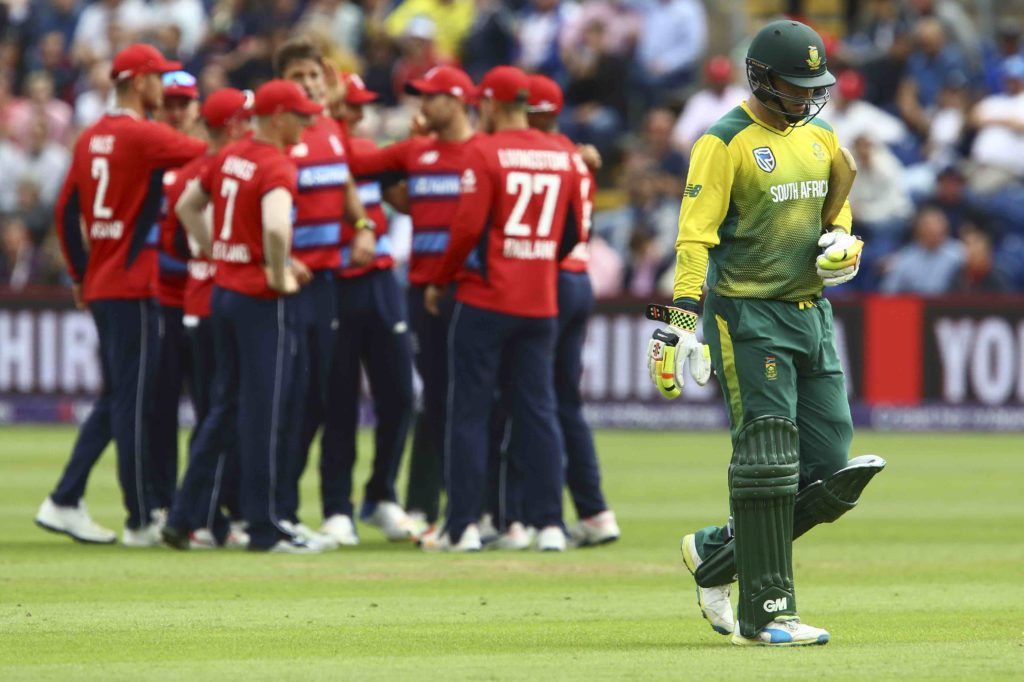 England clinch series
