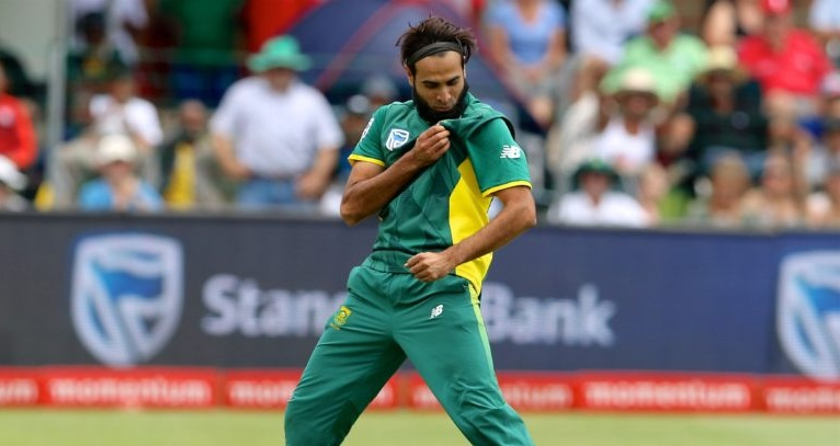 An absolute honour to be a Protea –Tahir