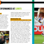 TOP 5: Memorable performances at Lord's