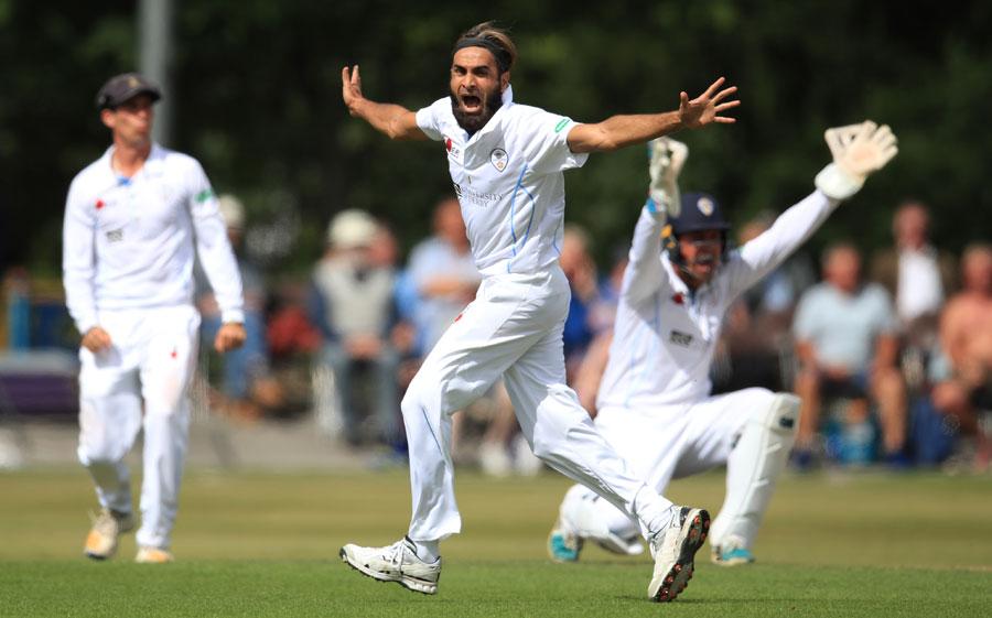 Tahir impresses on Derbyshire debut