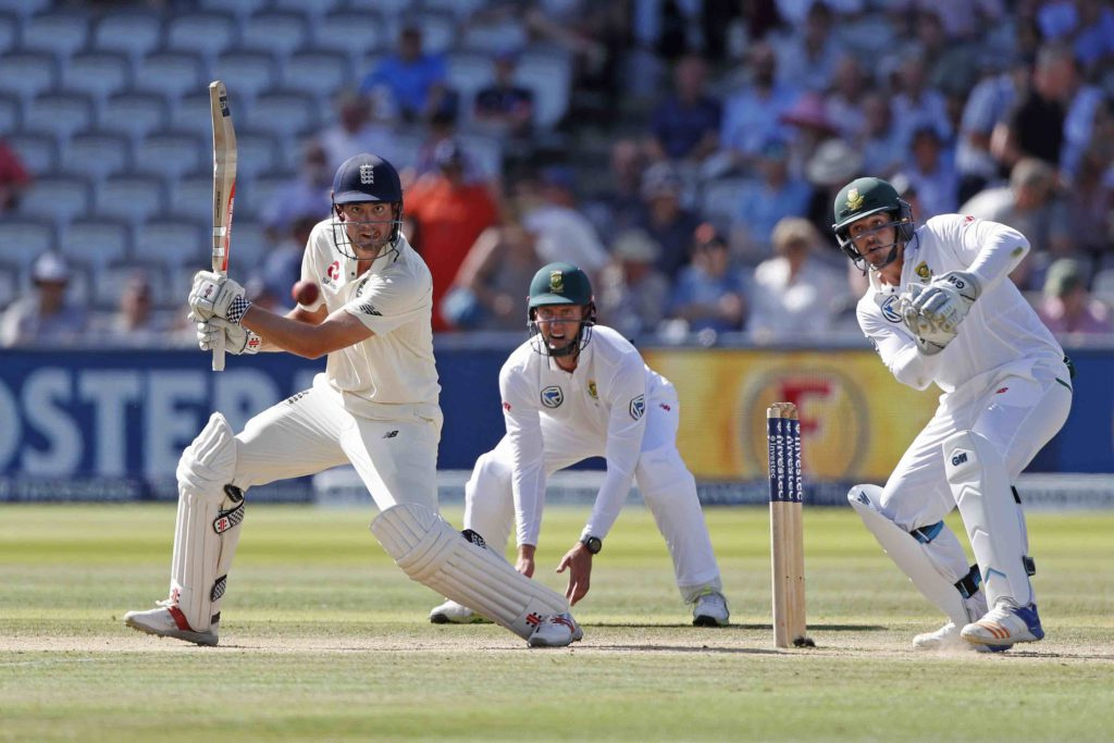 Cook gets England to 119-1 to extend lead