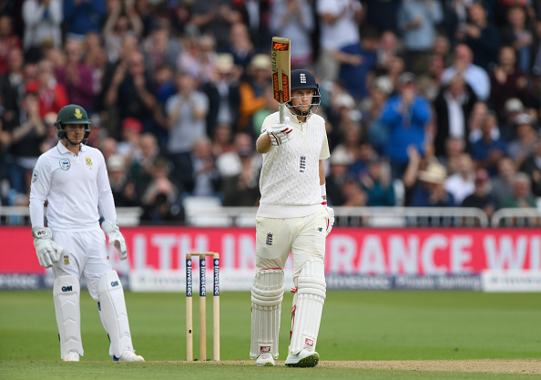 Root hits fifty after early SA strikes