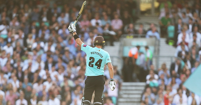 KP smashes fifty in T20 Blast return