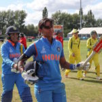 Kaur smashes India into second final