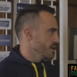 It's about being hungry — Faf