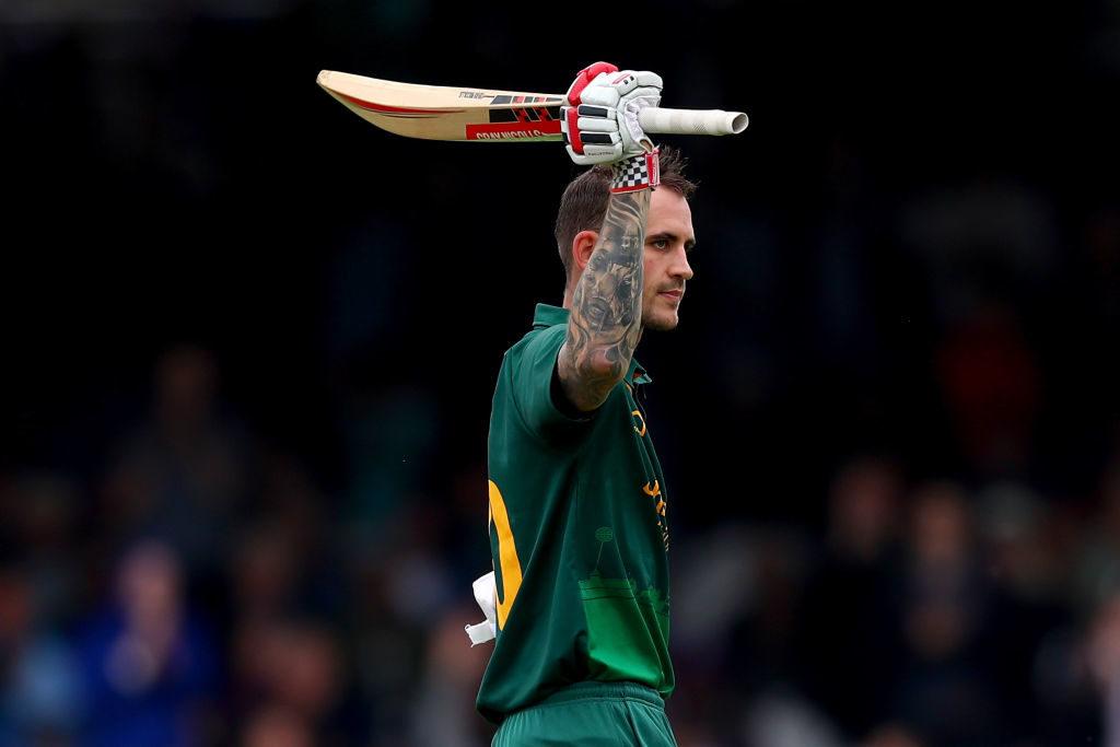 Hales' blitz ton sees Notts claim trophy