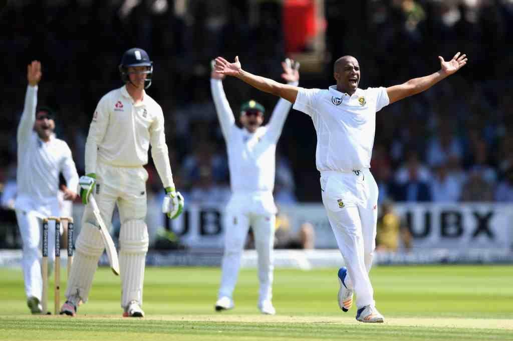 Philander's triple strike leaves England in tatters