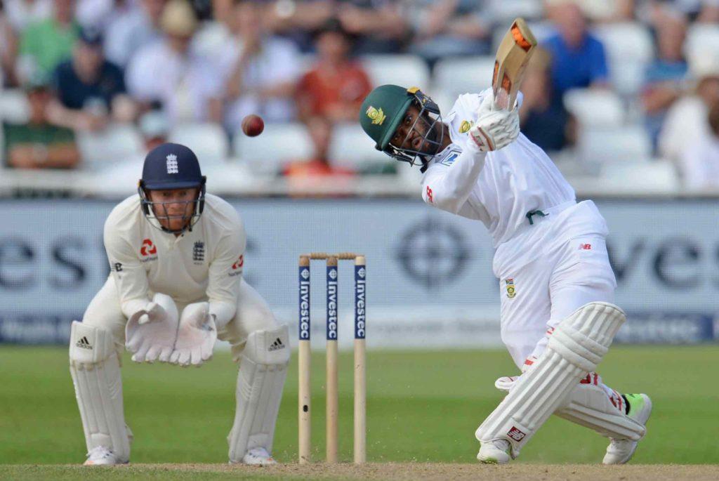 Bavuma scores 52 before England build lead