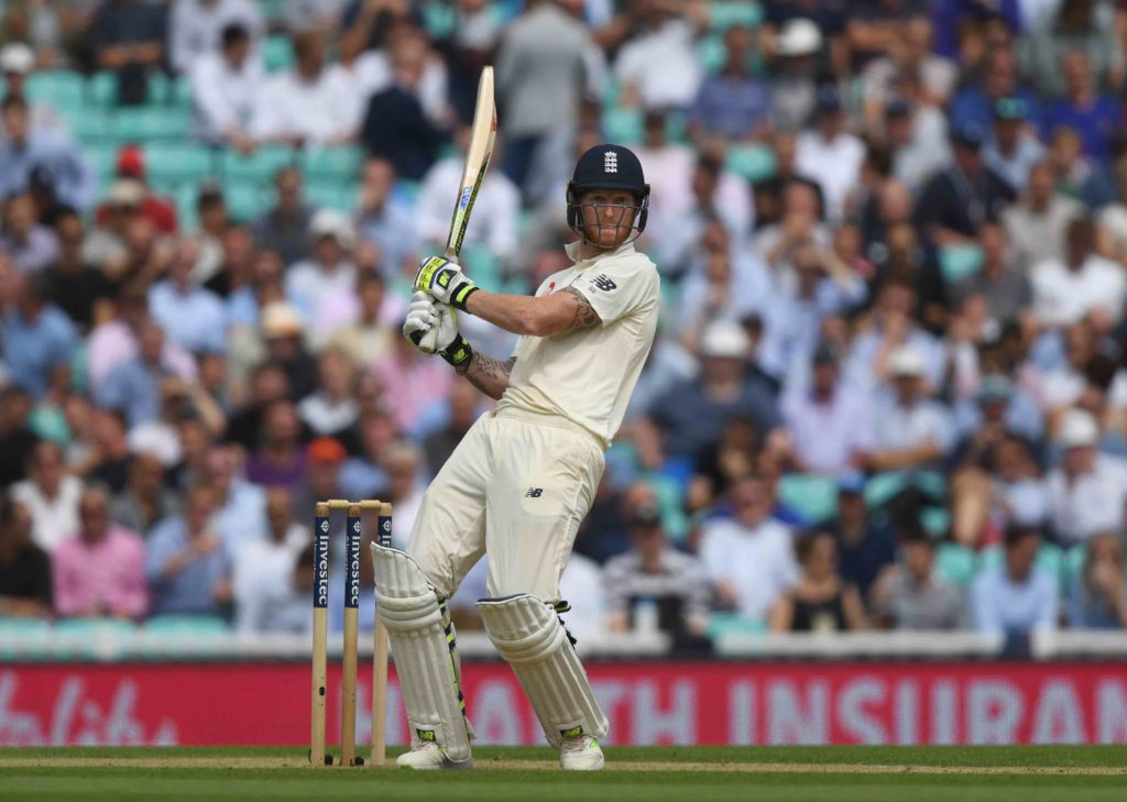 Stokes lifts England to 269-6