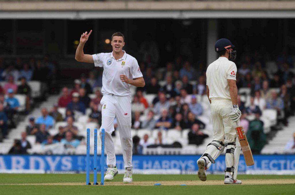 Morkel has Cook's number
