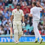 Morkel gets Cook but England build lead