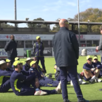 Gibbs, Rhodes impart knowledge on academy squad