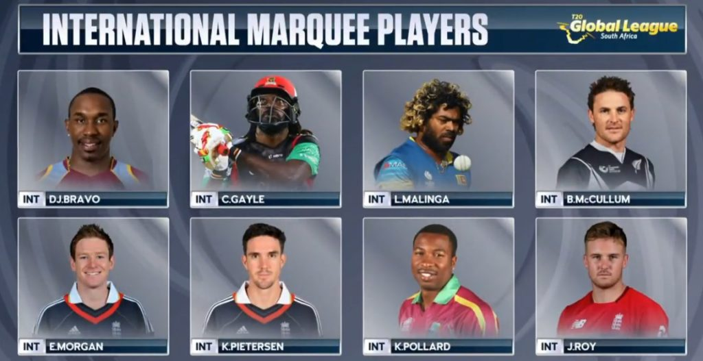 International marquee players picked