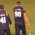 De Lange's three-for for Glamorgan
