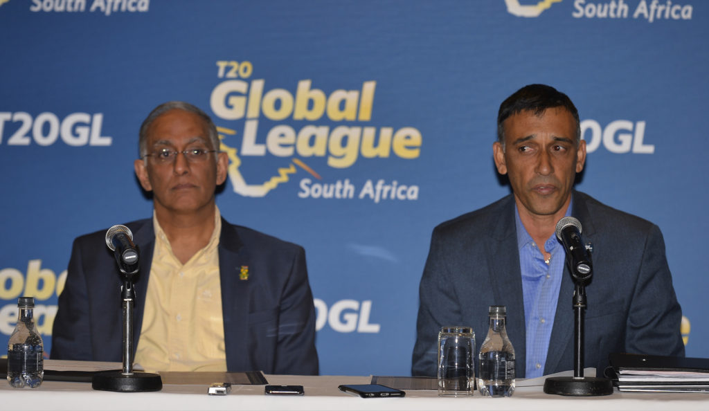 T20 Global League fixtures