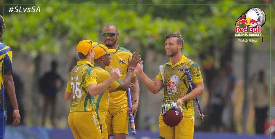 SA crowned Campus Cricket champions