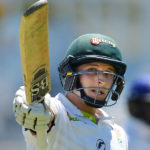 Moore's ton sets Warriors' platform