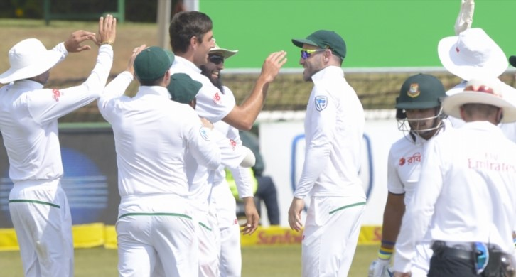 Proteas in control 230 ahead