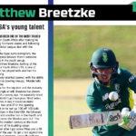Mulder praises 'talented' Breetzke