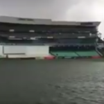 Kingsmead flooded after storm