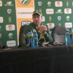 De Villiers press conference