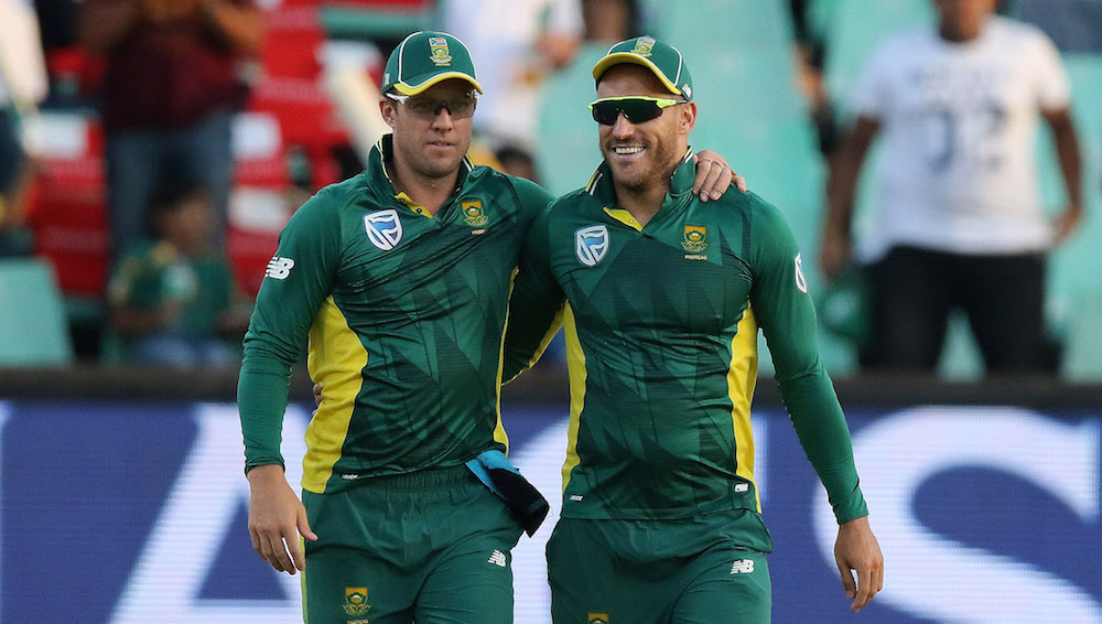 AB: Faf can be one of the great captains
