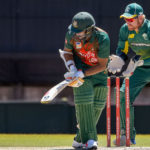 Shakib, Sabbir weather early SA storm
