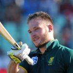 Miller set for ODI century