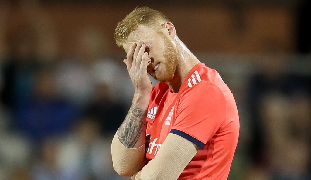 Stokes charged over fight