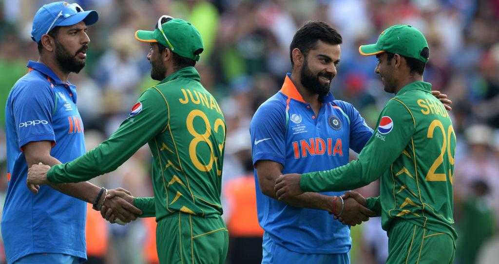 India bump Pakistan to top spot