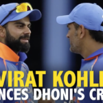 Kohli slams Dhoni critics